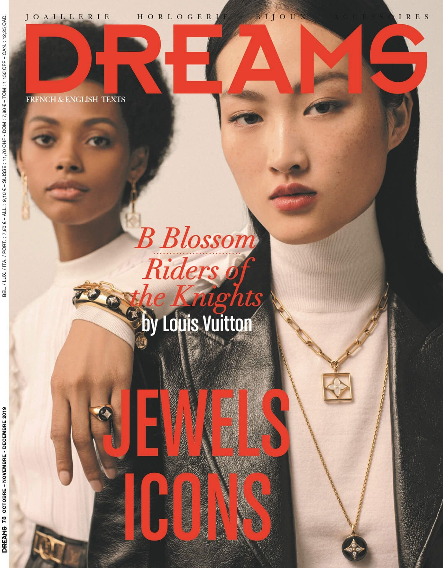 DREAMS Magazine October 2019 dedicates an article to pearls in jewelry