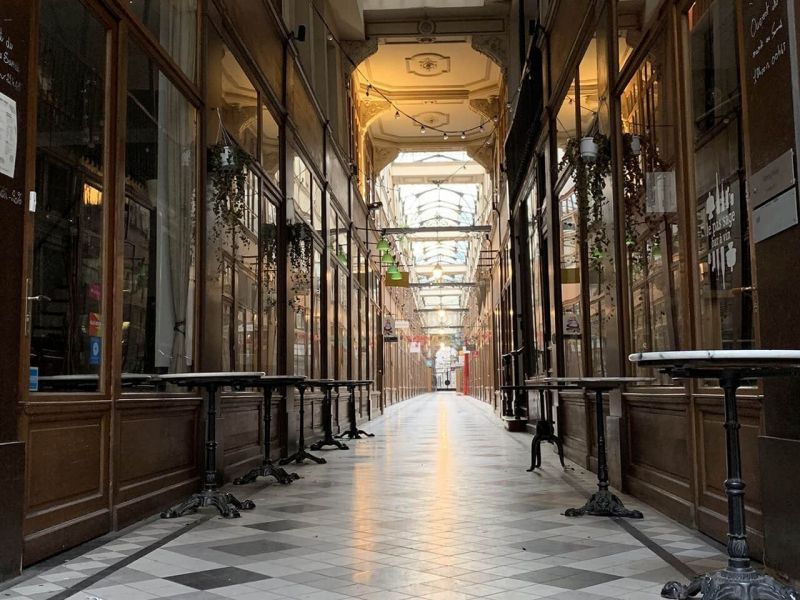 The passage du Grand Cerf in Paris … a souvenir of a future jeweler